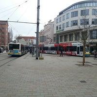 Photo taken at Marienplatz by Sandeep S. on 4/12/2013