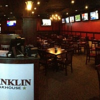 Photo taken at Franklin Steakhouse & Tavern by Oscar B. on 12/19/2012