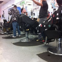 Photo taken at Five Star Barbershop by Anna D. on 10/26/2012