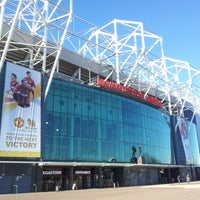 Photo taken at Manchester United Museum & Tour Centre by Marcello on 2/2/2013