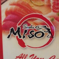 Photo taken at Miso Sushi by Mike D. on 11/13/2012