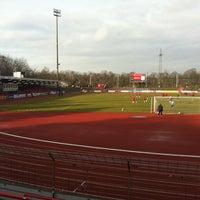 Photo taken at Südstadion by Jan B. on 4/9/2013