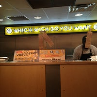 Photo taken at Which Wich? Superior Sandwiches by Amber C. on 2/10/2013