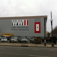 Photo taken at The National WWII Museum by JonathanSidwell V. on 3/9/2013