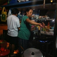 Photo taken at Bakmi & Nasi Goreng OKI by Ms. Anita Adi M. on 12/21/2012