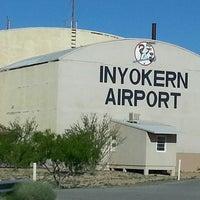 Photo taken at Inyokern Airport (IYK) by Banana m. on 4/14/2017