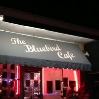 Photo taken at The Bluebird Cafe by Mindy B. on 4/14/2013