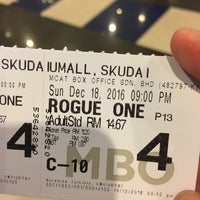 Photo taken at MBO Cinemas by Lily Y. on 12/18/2016