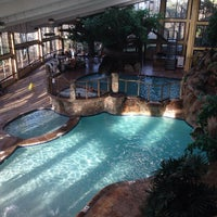 Photo taken at Park vista Double Tree Pool side by Amy G. on 1/1/2014