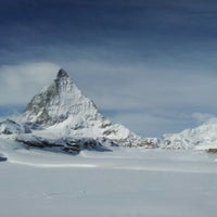 Photo taken at Matterhorn Glacier Paradise by Jüri K. on 2/12/2013