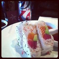Photo taken at Starfish Sushi by Deb C. on 11/12/2012