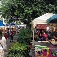 Photo taken at ตลาดนัดหอยู by Vasan M. on 10/31/2012