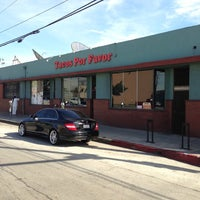 Photo taken at Tacos Por Favor by Andy R. on 11/14/2012