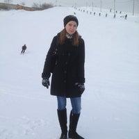 Photo taken at Горнолыжка by Veronika A. on 1/8/2013