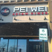 Photo taken at Pei Wei by Tracey P. on 3/13/2013