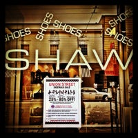 Photo taken at Shaw Shoes by Caroline D. on 10/23/2012