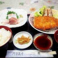Photo taken at お食事処 秀 by Kana U. on 12/15/2013