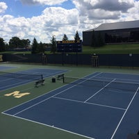 Photo taken at University of Michigan Varsity Tennis Center by David W. on 8/6/2016