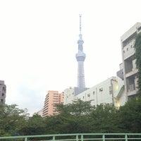 Photo taken at 紅葉橋 by Mami O. on 6/24/2013