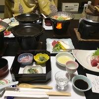 Photo taken at ホテル三楽荘 by Mami O. on 2/17/2017