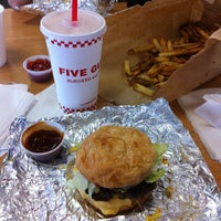Photo taken at Five Guys by Tristan E. on 10/13/2012