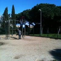 Photo taken at Parco Madre Teresa Di Calcutta by Maria Magdalena P. on 2/23/2014