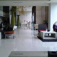 Photo taken at Mercure Hotel by Ika Ramadhani S. on 5/2/2013