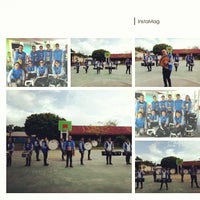 Photo taken at SMA Kristen 1 Tomohon by Zefanya R. on 3/10/2014