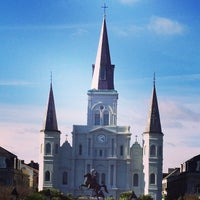 Photo taken at Jackson Square by Nick F. on 12/26/2012