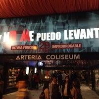 Photo taken at Teatro Arteria Coliseum by Emilio P. on 5/30/2014