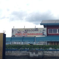Photo taken at Tagbilaran City Bohol Port by Joyce A. on 7/20/2013