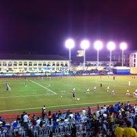 Photo taken at Cebu City Sports Center by Joyce A. on 11/15/2012