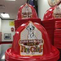 Photo taken at Firehouse Subs by Dianna C. on 6/27/2013