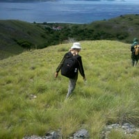 Photo taken at Trail of Padar by Aganto S. on 2/13/2013