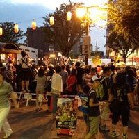 Photo taken at Soka Sta. West Exit Bus Stop by taka m. on 7/21/2013