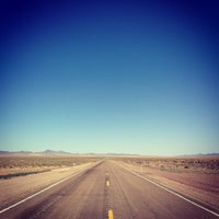 Photo taken at Extraterrestrial Highway by marshall m. on 6/15/2013