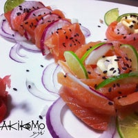 Photo taken at Akikomo Sushi by Restaurante A. on 8/9/2013