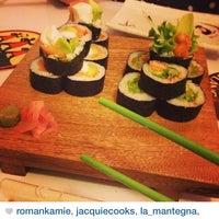 Photo taken at Akikomo Sushi by Restaurante A. on 1/9/2014