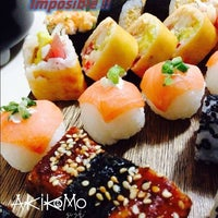 Photo taken at Akikomo Sushi by Restaurante A. on 6/1/2014