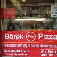 Photo taken at Şerife Bacı Pide ve Börek by TRKN S. on 12/15/2012