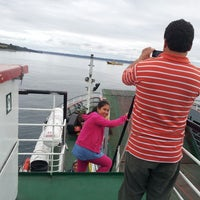 Photo taken at Ferry Ruende by Yolanda M. on 2/23/2014