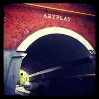Снимок сделан в Artplay пользователем Alexandr Z. 5/5/2013