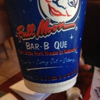 Photo taken at Full Moon BBQ by Kayla J. on 11/10/2012