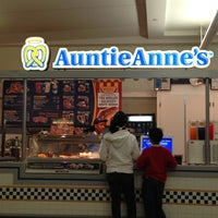 Photo taken at Auntie Anne's Pretzels by Mike F. on 12/11/2012