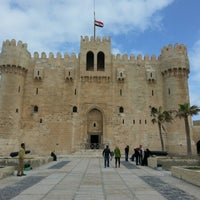 Photo taken at Citadel of Qaitbay by Rifaz I. on 2/11/2013