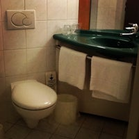 Photo taken at Hotel ibis Praha Malá Strana by Vicky S. on 1/2/2013
