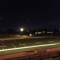 Photo taken at Foothill College Football Field by Dima T. on 9/28/2015