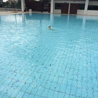 Photo taken at Swimming Pool @ Sports Complex by QiLi A. on 5/11/2014