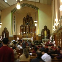 Photo taken at Queen of Angels Parish by Tommy B. on 12/21/2012
