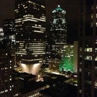 Photo taken at Sheraton Seattle Hotel by Matthew S. on 11/30/2012